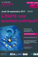L'euro: une question politique?