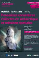 Poussières cométaires : collectes en Antarctique et missions spatiales