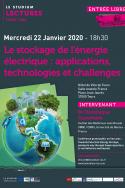 Le stockage de l'énergie électrique : applications, technologies et challenges