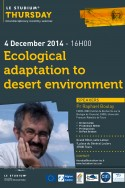 Ecological adaptation to desert environment