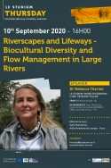 Riverscapes and Lifeways - Biocultural Diversity and Flow Management in Large Rivers
