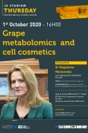 Grape metabolomics and cell cosmetics