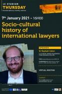 Socio-cultural history of international lawyers