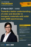 Towards a better understanding of order and disorder in inorganic materials with solid-state NMR spectroscopy