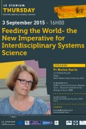 Feeding the World- the New Imperative for Interdisciplinary Systems Science
