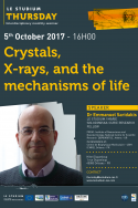 Crystals, X-rays, and the mechanisms of life