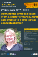 Defining the symbolic space: From a cluster of transcultural case studies to a topological conceptualization