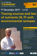 Tracing sources and fate of nutrients (N, P) with environmental isotopes