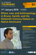 Ethics, Law, and Anthropology in Bruno, Gentili, and the Sixteenth-Century Debate on Native Americans