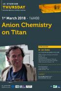 Anion Chemistry on Titan