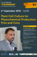 Plant Cell Culture for Phytochemical Production: Pros and Cons