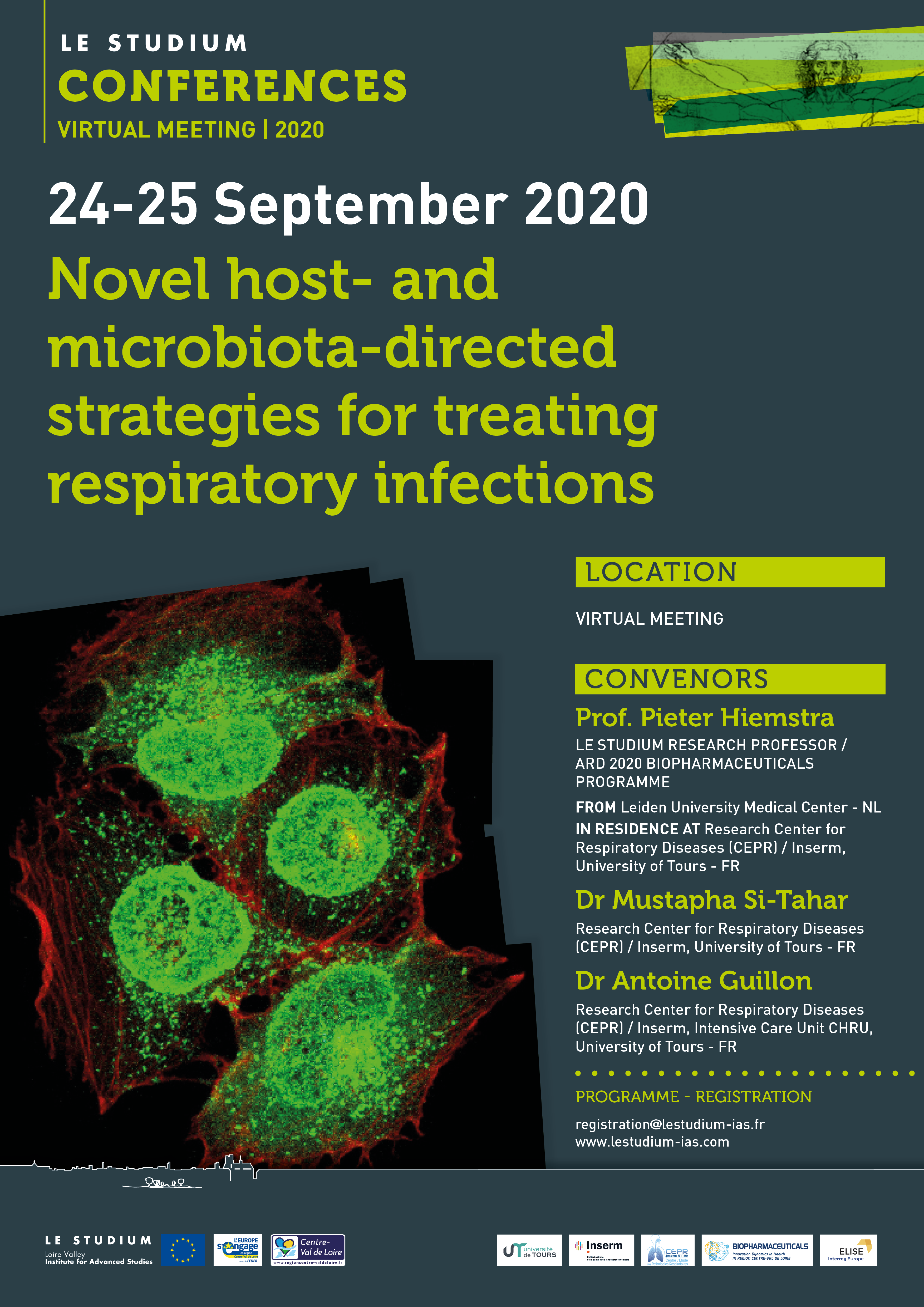 Novel host- and microbiota-directed strategies for treating respiratory infections